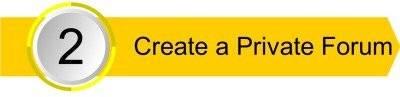 Create a Private Forum