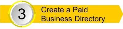 Create a Paid Business Directory
